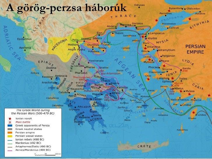 A görög-perzsa háborúk