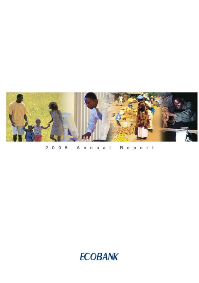 Ecobank annual report 2005