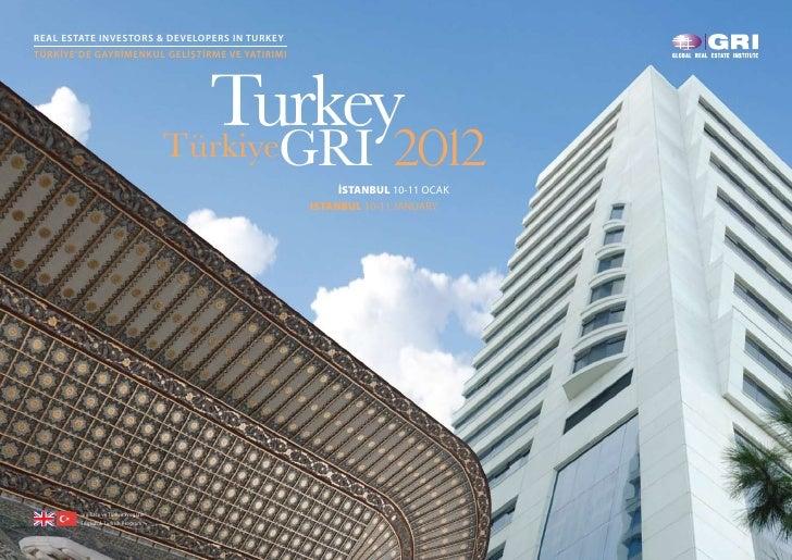 Turkey GRI 2012 - Brochure