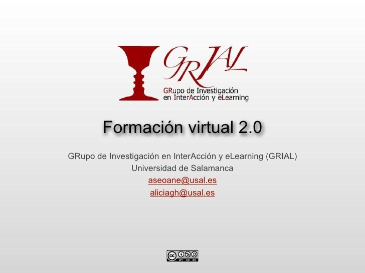 Curso formación virtual 2.0: redes sociales y blogging educativo
