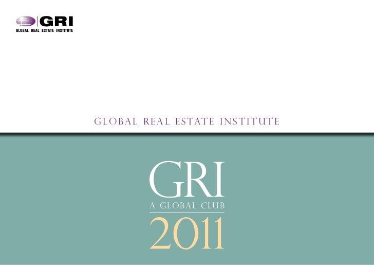GRI Corporate Brochure