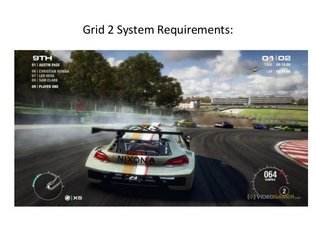 Grid 2 System Requirements: