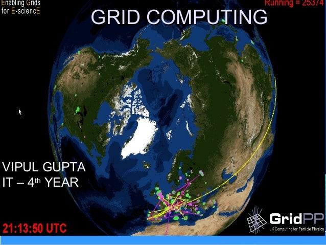 GRID COMPUTINGGRID COMPUTING VIPUL GUPTA IT – 4th YEAR