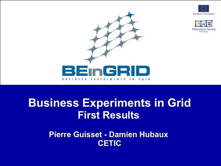 Gridforum Pierre Guisset Damien Hubaux B Ein Grid 20080402