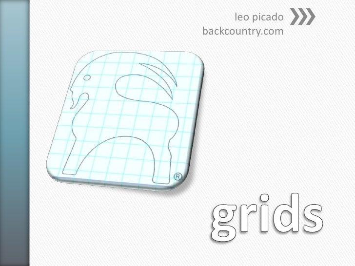 grids<br />leopicadobackcountry.com<br />