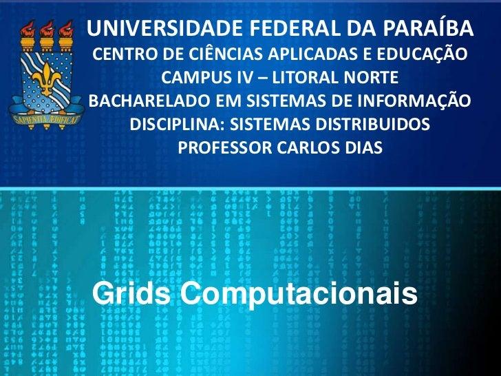 Grids computacionais
