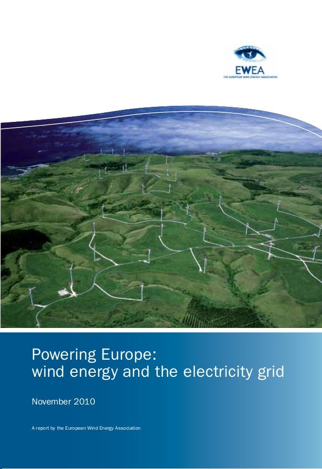 Powering Europe - Wind energy and the electricity grid