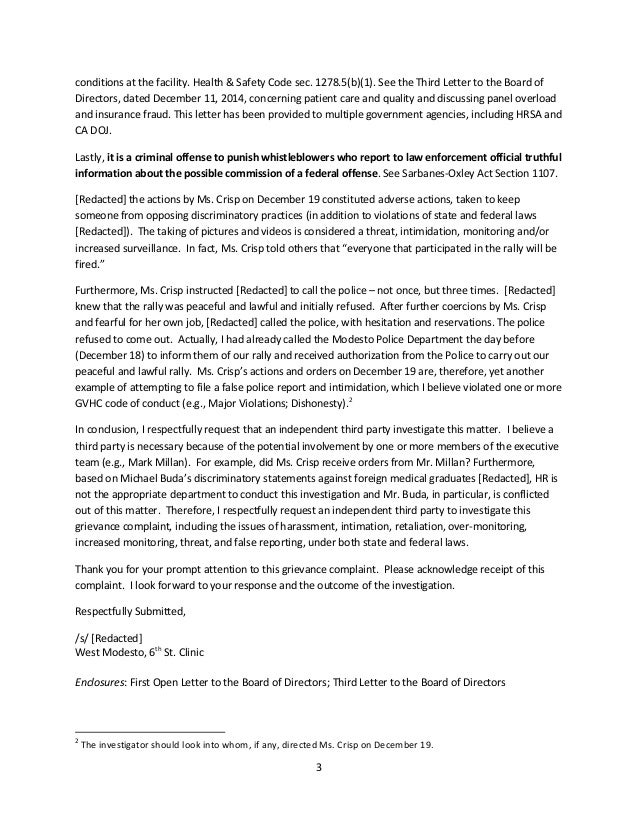 Grievance investigation outcome letter template about investments grievance investigation outcome letter template spiritdancerdesigns Images