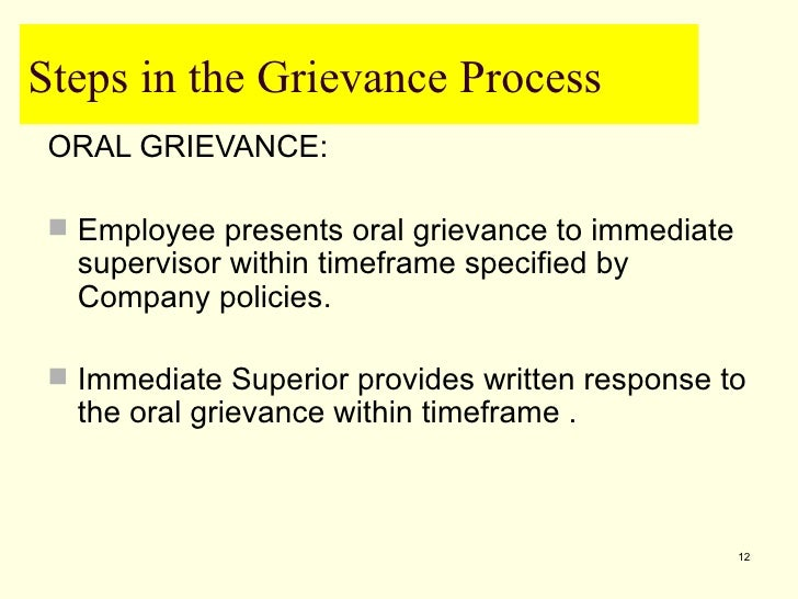 rbs staff grievance procedure Principles of employee grievance  formal procedure  everyone else knowing t is also good practice to have both a male and female staff member.