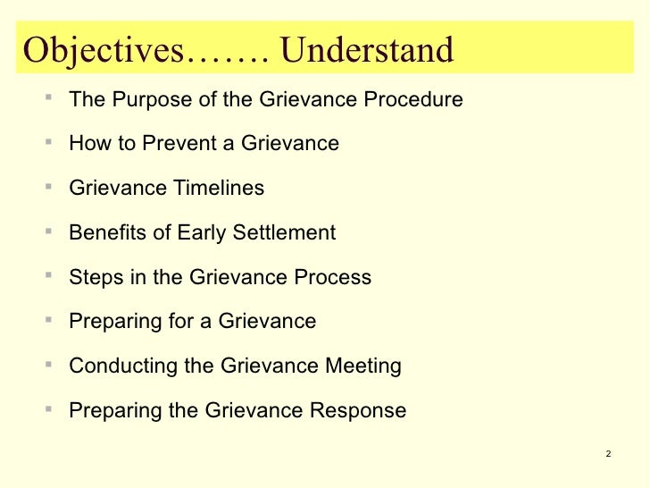 describe the procedures to follow in event of a grievance In those grievance cases, for which an industrial tribunal has jurisdiction to determine, a failure to follow the grievance procedure set out in the code.