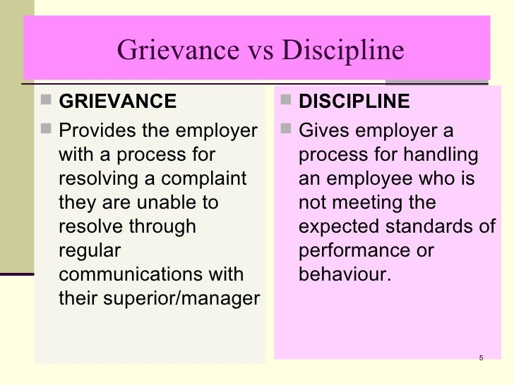 disciplinary and grievance procedures The statutory minimum grievance procedures are also summarised in part 2 grievance procedures the right to be accompanied part 3- the right to be accompanied checklist for the right of accompaniment has information on the right to be accompanied at disciplinary and grievance meetings.