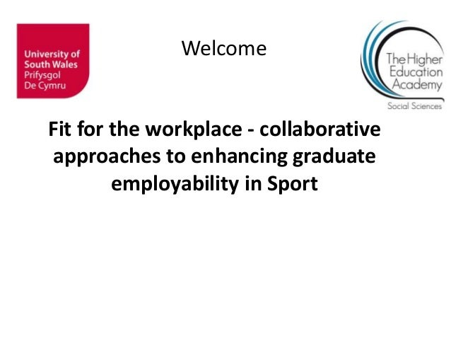 Collaborative approaches to enhancing graduate employability in Sport: event introduction - Rob Griffiths
