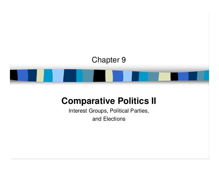 Chapter 9Comparative Politics II Interest Groups, Political Parties,           and Elections