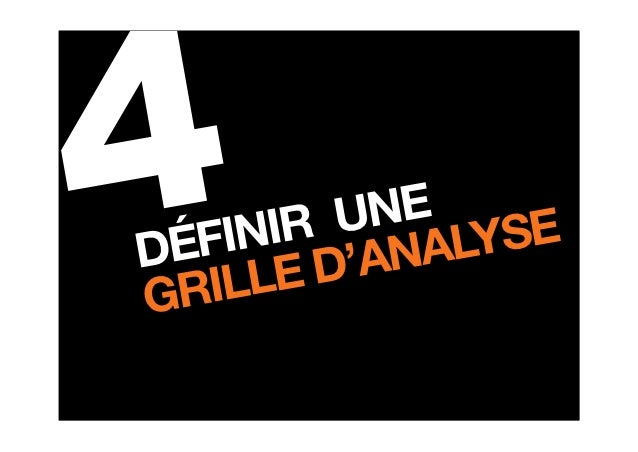 Grille analyse Community Management