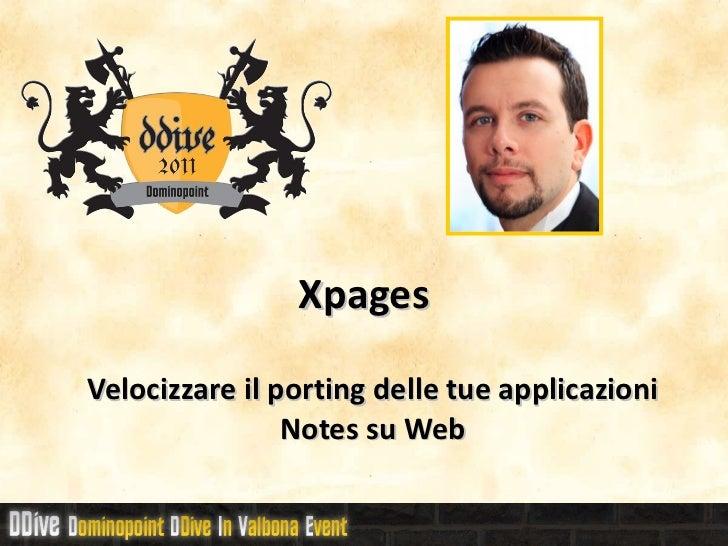 DDive11 - xpages
