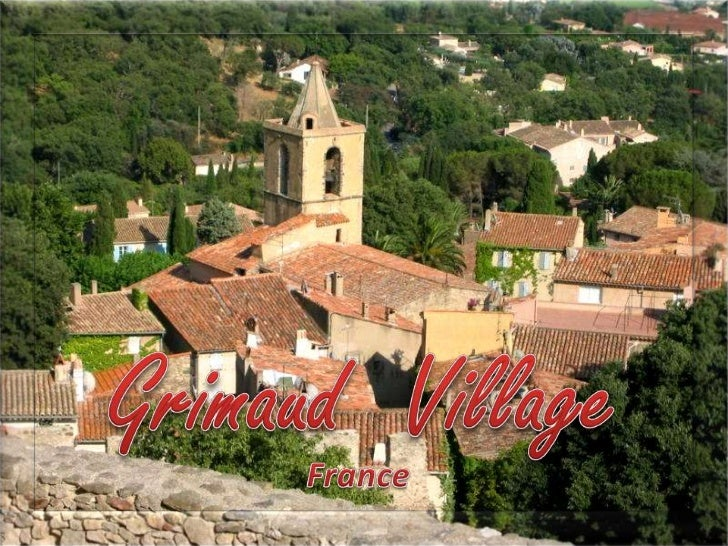 Grimaud  Village<br />France<br />