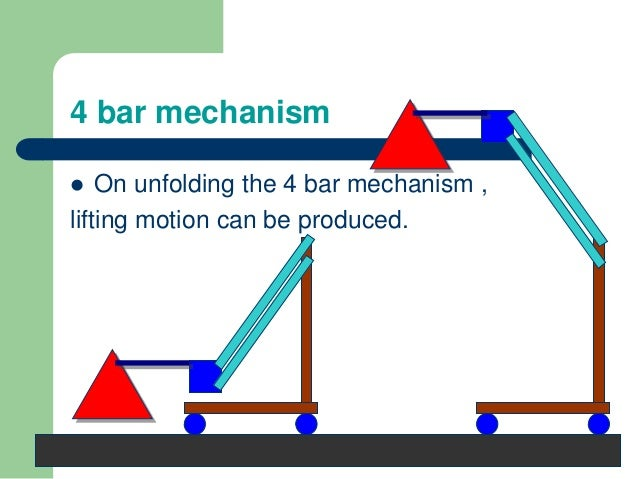 Simple Linkage Mechanisms : Grippers and lifting mechanisms