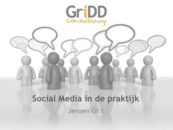Jeroen Grit over social media en kennisdeling
