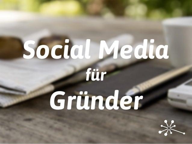 Social Media für Gründer