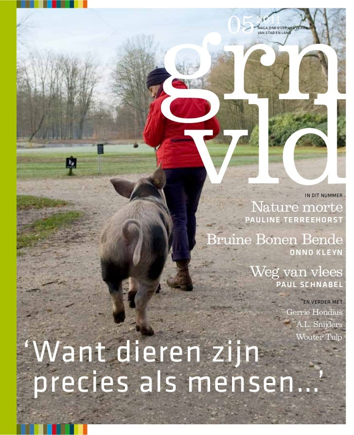 05   2011                    MAGAZINE OVER HET VERBINDEN                    VAN STAD EN LAND                              ...