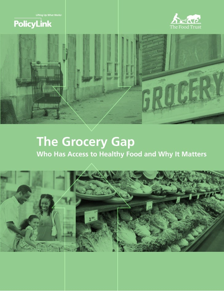 Grocery gap