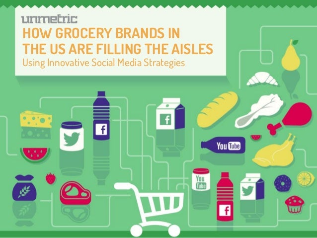 Cover Photo HOW GROCERY BRANDS IN THE US ARE FILLING THE AISLES Using Innovative Social Media Strategies