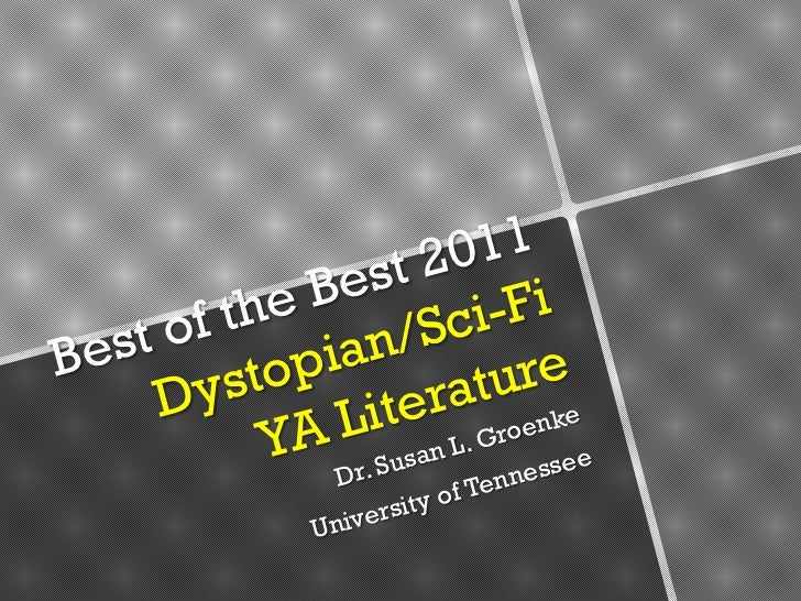 Dr. Susan Groenke - Best of the Best, So Far 2011 Workshop