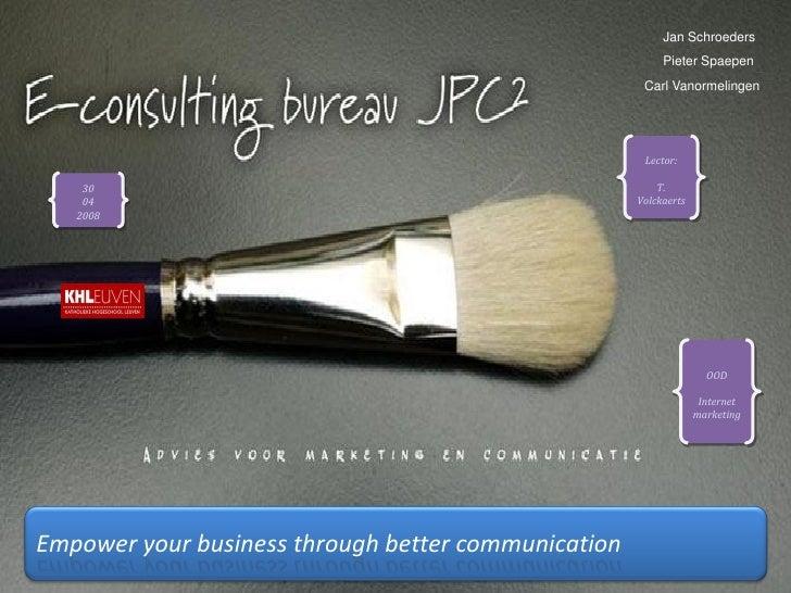 Groepsopdr. OOD Internetmarketing
