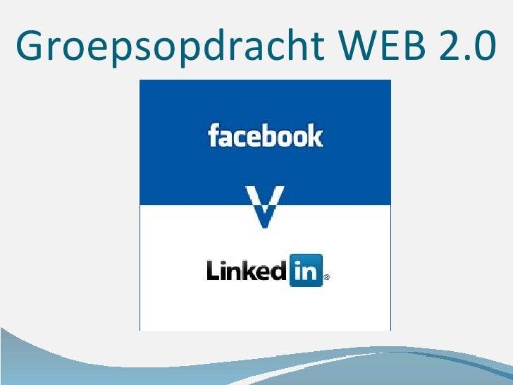 Groepsopdracht WEB 2.0