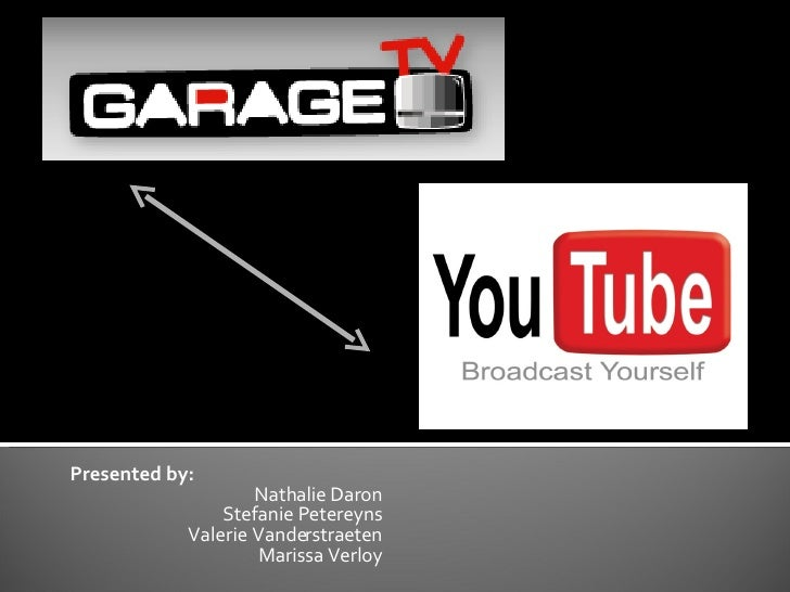 Vergelijking  Garage TV met You Tube