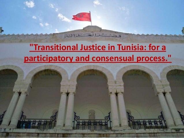 Transitional Justice in Tunisia, The Consultative Process