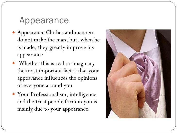 clothes and personality essay