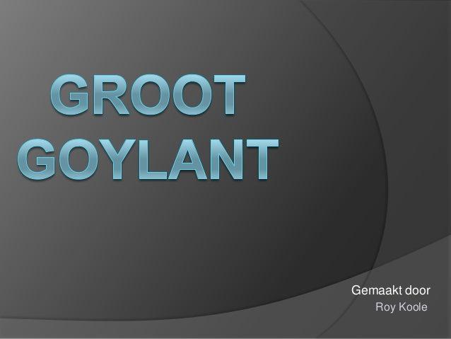 Groot goylant