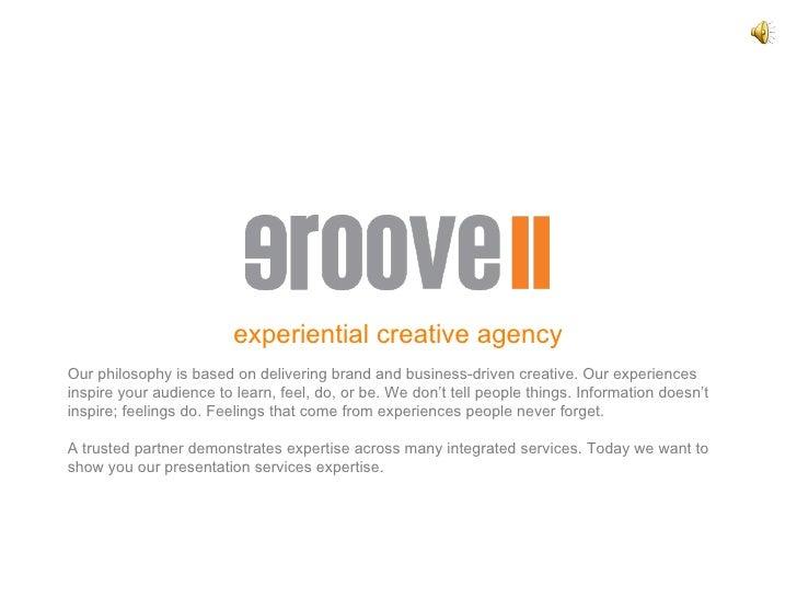 Groove Presentation Services Demo V8