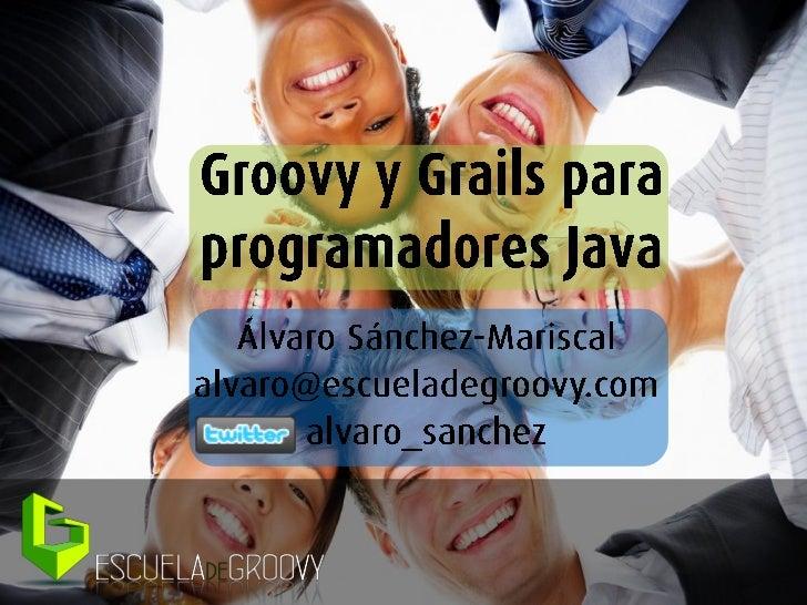 Introducción a Groovy y Grails