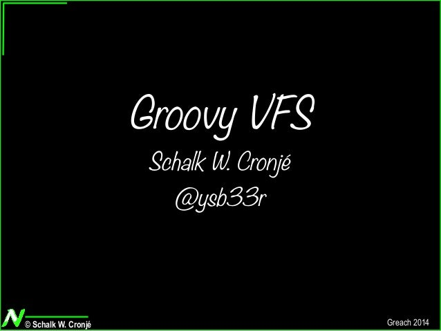 Groovy VFS