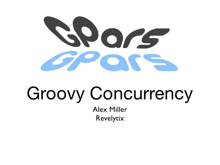 Groovy concurrency