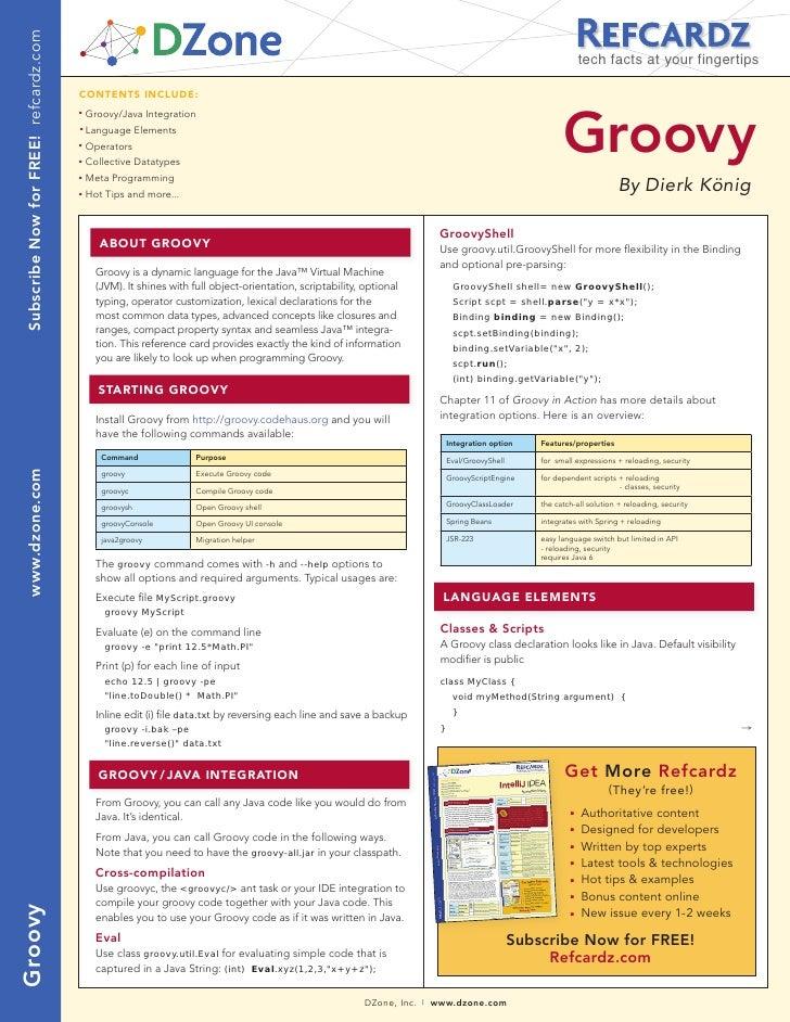 Groovy Online 100