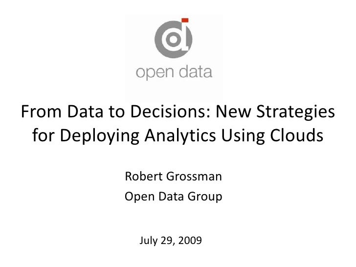 The Impact of Cloud Computing on Predictive Analytics 7-29-09 v5