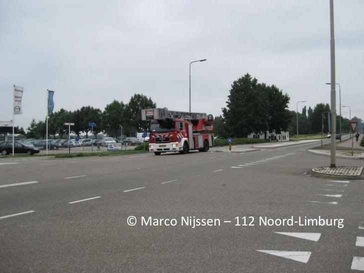 © Marco Nijssen – 112 Noord-Limburg