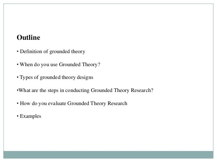 Constructivist Grounded Theory Dissertation