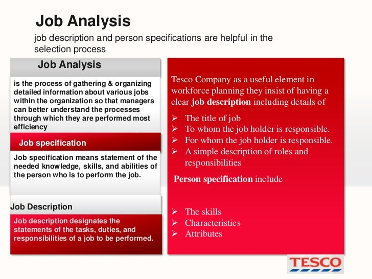 recruitment and selection at tesco answer The effectiveness of recruitment and selection process of tesco and mcdonalds are discussed below- this process helps the organization to fill its actual requirement in the employees this is the end of the preview.