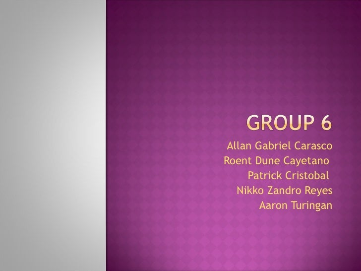 4ChEB Group 6