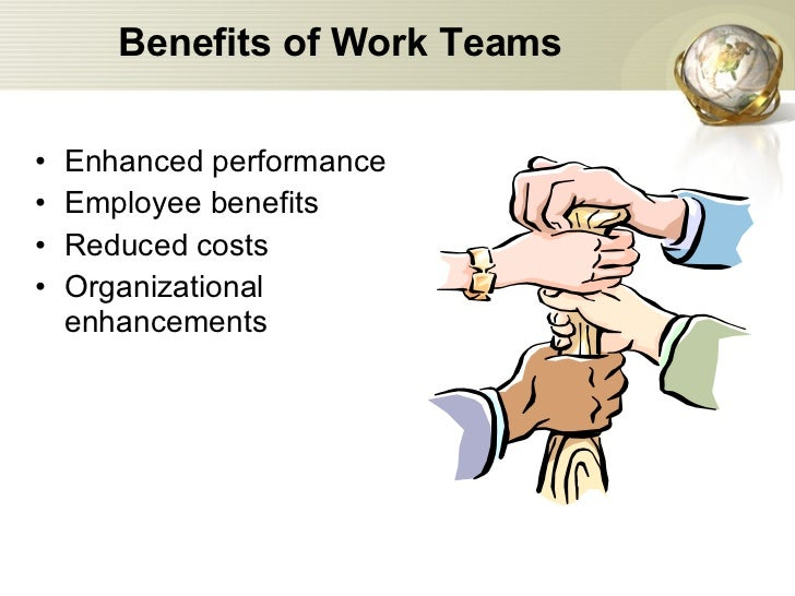 benefits of working in a group Pressurizes the group to get  one of the greatest teamwork benefits is the  teamwork can achieve more in a company than each one working alone.