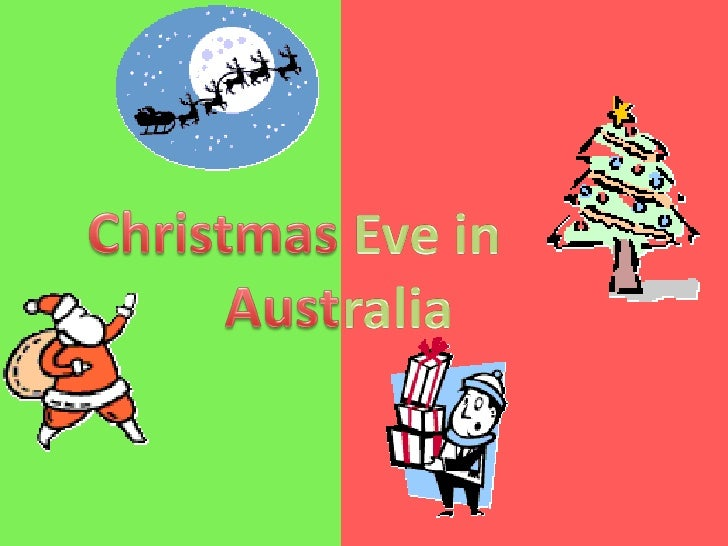 Christmas Eve in Australia