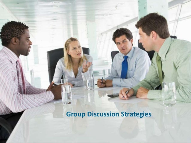 Group discussion-strategies