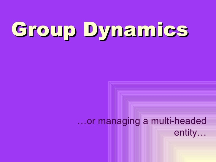 group dynamics 5 2 essay Group dynamics looks at how people form groups and how these groups develop and interact groups can be informal or formal but typically have a set pattern of how they function when managing.