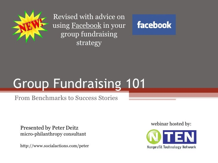 Group Fundraising 101: From Benchmarks to Success Stories (revised)