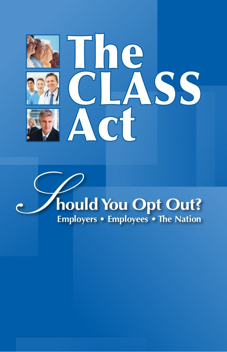 Should You Opt Out?Employers • Employees • The Nation