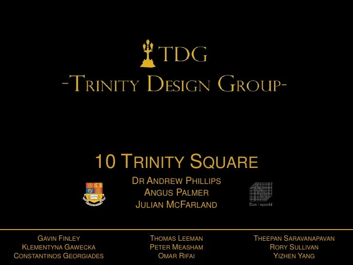 10 TRINITY SQUARE                          DR ANDREW PHILLIPS                             ANGUS PALMER                    ...
